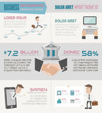 Business infographics elements Stock Photography