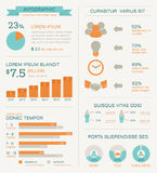 Business infographics elements Stock Image