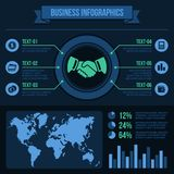 Business Infographics Elements. Royalty Free Stock Photos