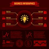 Business Infographics Elements. Stock Photo