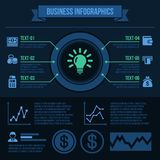 Business Infographics Elements. Stock Images