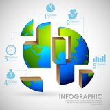 Business Infographics Royalty Free Stock Photo