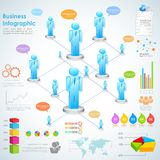 Business Infographics Royalty Free Stock Images