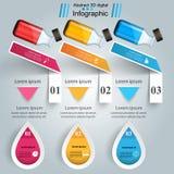 Business Infographics. Medicine bottles,  Recipe icon. Royalty Free Stock Photo