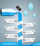 Business Infographics. Medicine bottles,  Recipe icon. Stock Photos