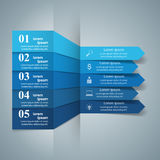 Business Infographics origami style Vector illustration. Royalty Free Stock Photos