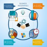 Business Infographics Set royalty free illustration