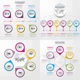 Business Infographics design elements template illustration. Business Infographics, strategy, timeline, design elements template illustration. Vector eps10 Stock Photo
