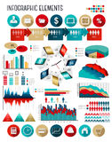 Business infographics template. Stock Image