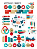 Business infographics template. Royalty Free Stock Photography