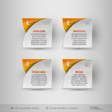 Business infographics template. Vector design elements. Stock Photo