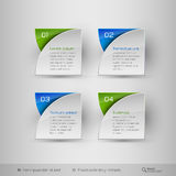 Business infographics template. Vector design elements. Stock Image