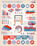 Business infographics template. Stock Photography