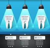 Business Infographics. Tooth icon. Royalty Free Stock Photos