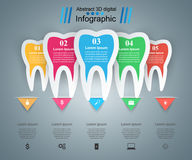 Business Infographics. Tooth icon. Stock Image