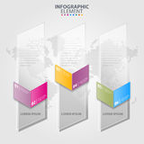 Business Infographics transparency design elements illustration. Business Infographics transparency design elements template illustration. Vector eps10 Royalty Free Stock Images