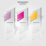 Business Infographics transparency design elements illustration. Business Infographics transparency design elements template illustration. Vector eps10 Stock Images