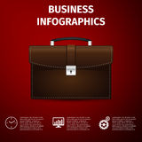 Business infographics Royalty Free Stock Photos