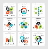 Business Infographics Stock Photography