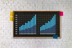 Business Information Technology people work hard Data Analytics Royalty Free Stock Photo