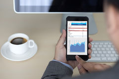 Business Information Technology people work hard Data Analytics Stock Photography