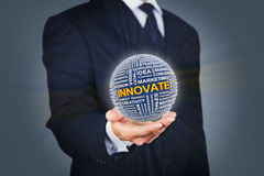 Business innovation stock image