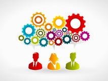 Business innovation. Competitive advantage process Stock Photo