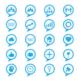 Business innovation concepts icons set Stock Image