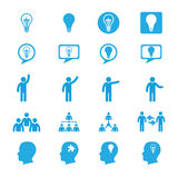 Business innovation concepts icons set Stock Photos