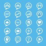 Business innovation concepts icons set Royalty Free Stock Photography