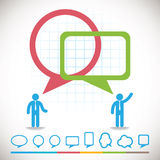 Business innovation concepts icons set Stock Photography