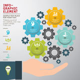 Business innovation concepts icons set. Template modern info-graphic design, Business innovation concepts icons set, for business template, marketing, creative Royalty Free Stock Photo
