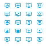 Business innovation concepts icons set Royalty Free Stock Image