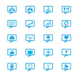 Business innovation concepts icons set Royalty Free Stock Images