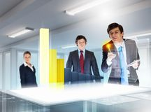 Business and innovation technologies Royalty Free Stock Photo