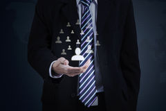 Business insurance concept Stock Photo