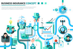 Business Insurance Concept Illustration Royalty Free Stock Images
