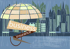 Business insurance cover Royalty Free Stock Image