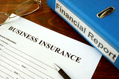 Business insurance Royalty Free Stock Photos