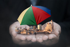 Business insurance Stock Image