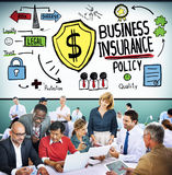 Business Insurance Policy Guard Safety Security Concept Stock Images
