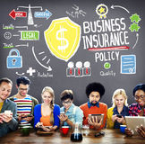 Business Insurance Policy Guard Safety Security Concept Royalty Free Stock Photography