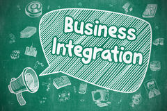 Business Integration - Business Concept. Royalty Free Stock Images