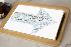Business intelligence fotografie stock