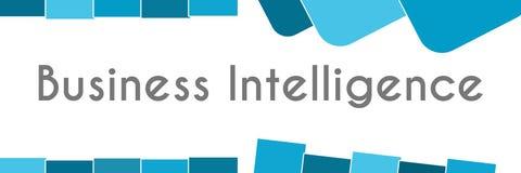 Business Intelligence Błękitny Abstrakcjonistyczny tło Obraz Stock
