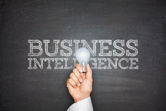 Business intelligence concept Stock Photo