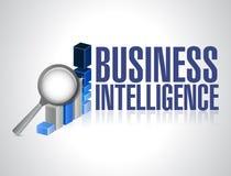 Business intelligence concept illustration design. Over a white background vector illustration