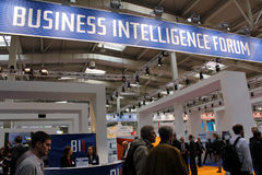 Business Intelligence forum Zdjęcia Royalty Free