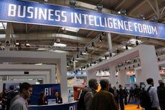 Business Intelligence Forum Royalty Free Stock Photos