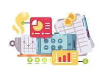 Business Intelligence i analiza Zdjęcie Stock
